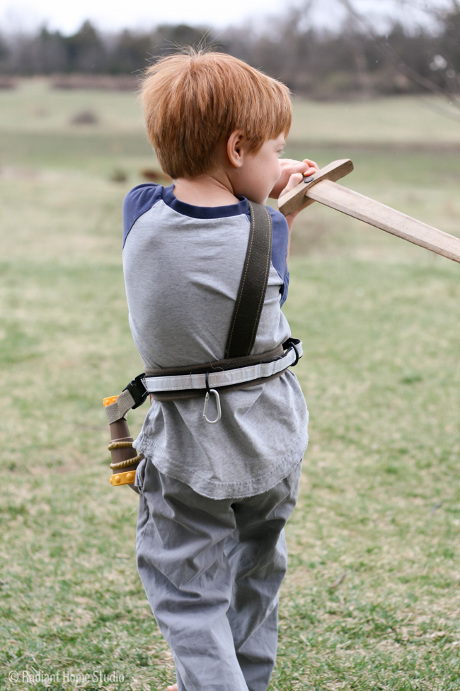 Make Believe Kids Adventure Belt | Radiant Home Studio