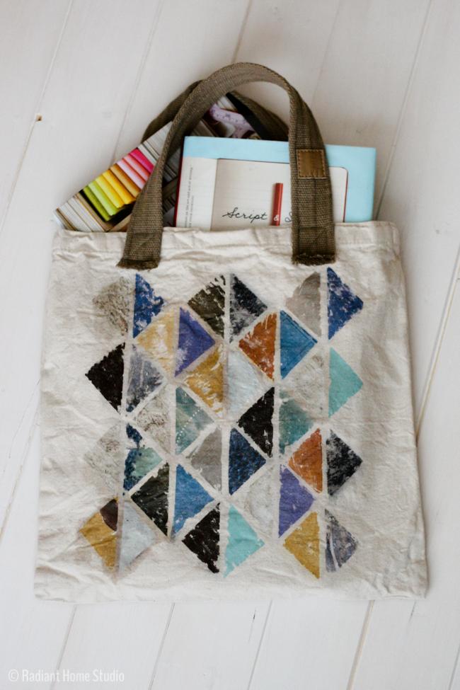 Photo Transfer Tote Bag Upgrade | Radiant Home Studio