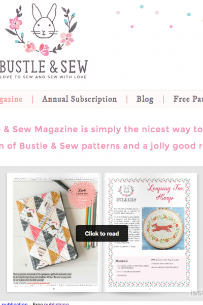 Bustle and Sew Guest Post Feature | Radiant Home Studio