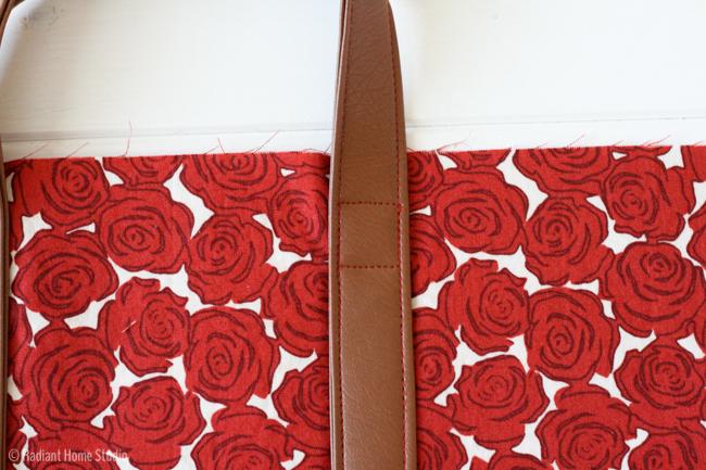 Fold Over Tote Bag Tutorial | Radiant Home Studio