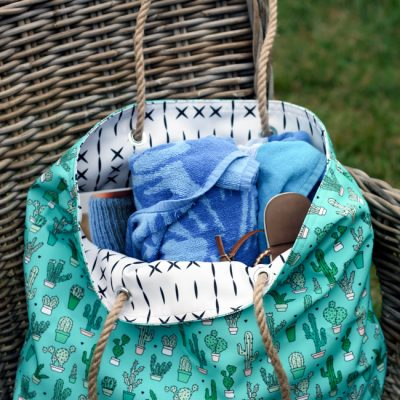 Beach Tote Tutorial | Radiant Home Studio
