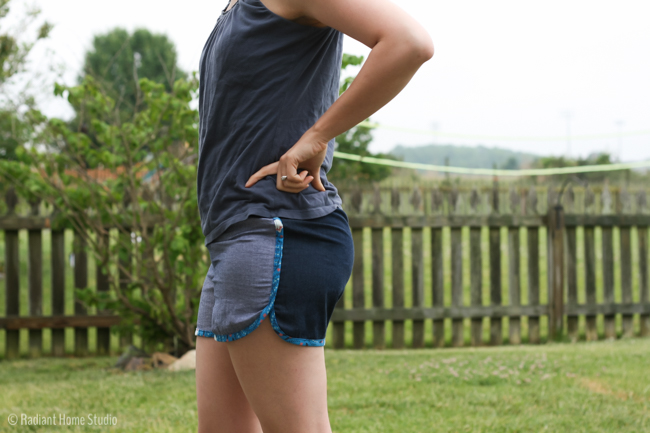 City Gym Shorts vs. Prefontaine Shorts | Radiant Home Studio
