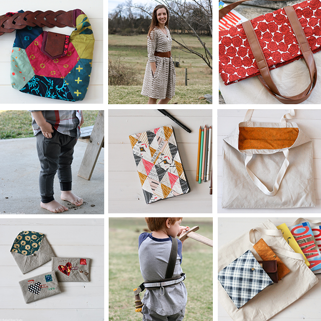 Spring 2015 Makes| Sew Mama Sew Giveaway Day | Radiant Home Studio