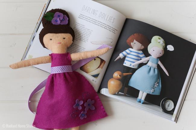 Darling Dollies - Felt Sew Good | Radiant Home Studio