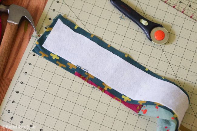 Make a Kantha Stitched Tote Bag - Add Straps with Grommets {Tote Bag Upgrade} | Radiant Home Studio