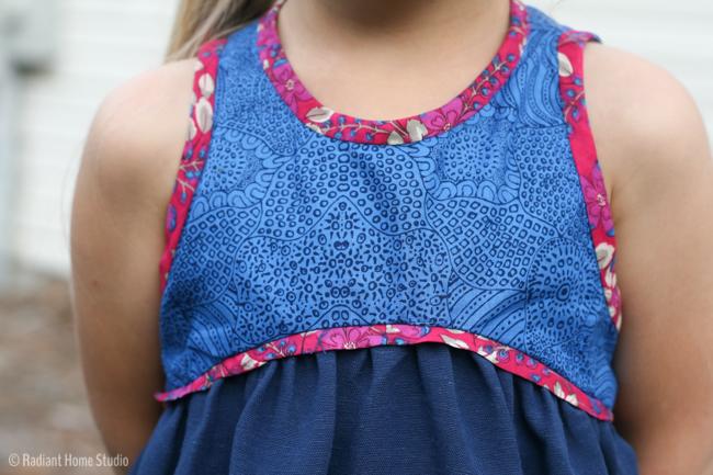 Blue Ridge Dress Pattern Swap   Radiant Home Studio