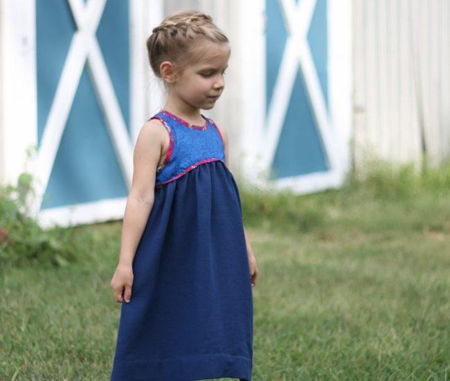 Blue Ridge Dress Pattern Swap | Radiant Home Studio