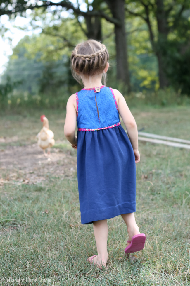 Blue Ridge Dress Pattern Swap | Radiant Home Studio