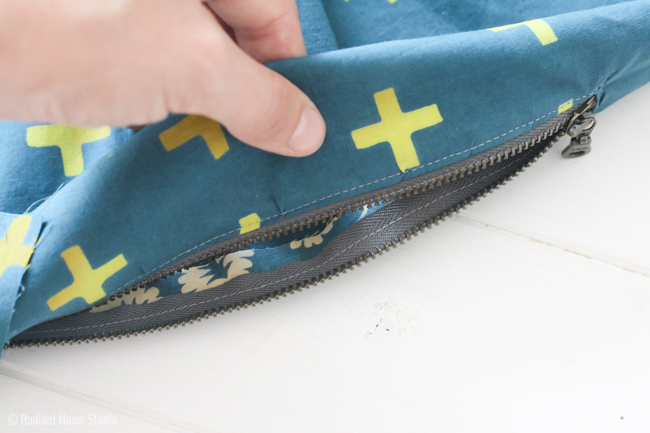Professional Zipper Pocket Tutorial | Radiant Home Studio