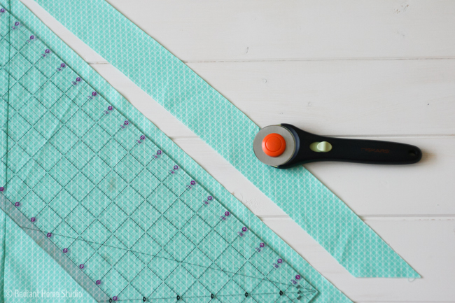 Make Bias Binding from a Fat Quarter | Radiant Home Studio