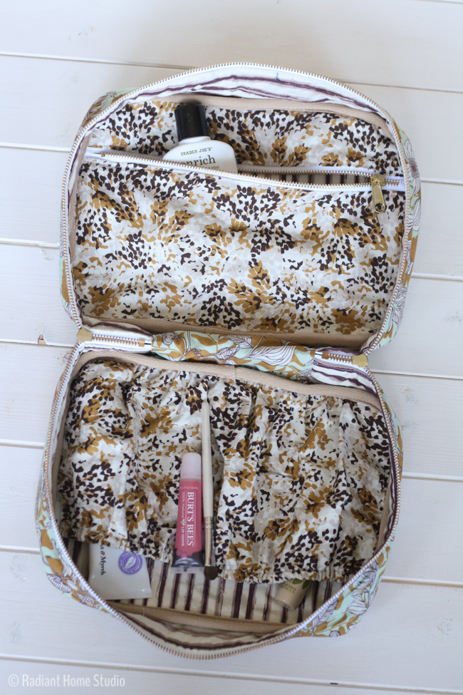 Cultivate Makeup Travel Case | Radiant Home Studio