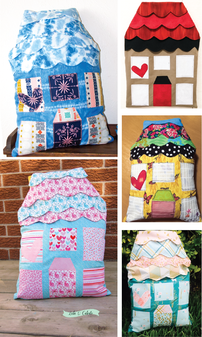 Highland Avenue House Pattern Tester Versions | Radiant Home Studio