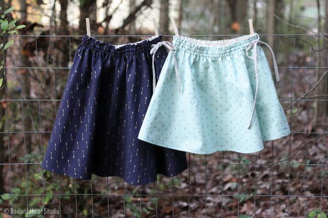 Swingset Skirts | Oliver + S | Radiant Home Studio