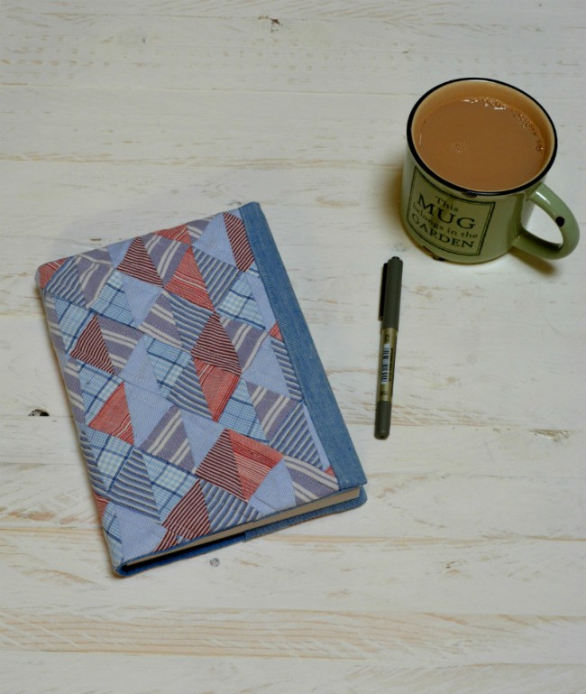 Quilted Notebook Cover | Vicky Myers Creations | Radiant Home Studio
