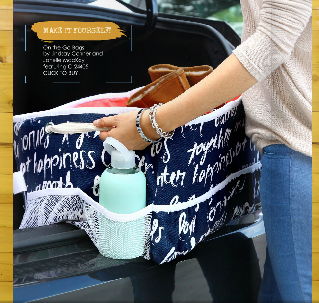 On the Go Bags | Trunk Organizer Radiant Home Studio