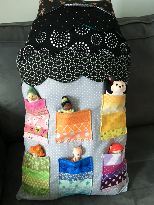 Highland Avenue House with Pockets by Hugs Are Fun   Radiant Home Studio Blog Tour