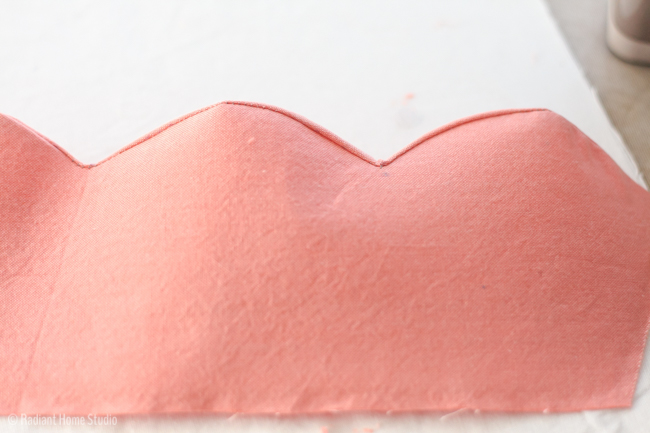 How to Sew Perfect Scallops   Radiant Home Studio