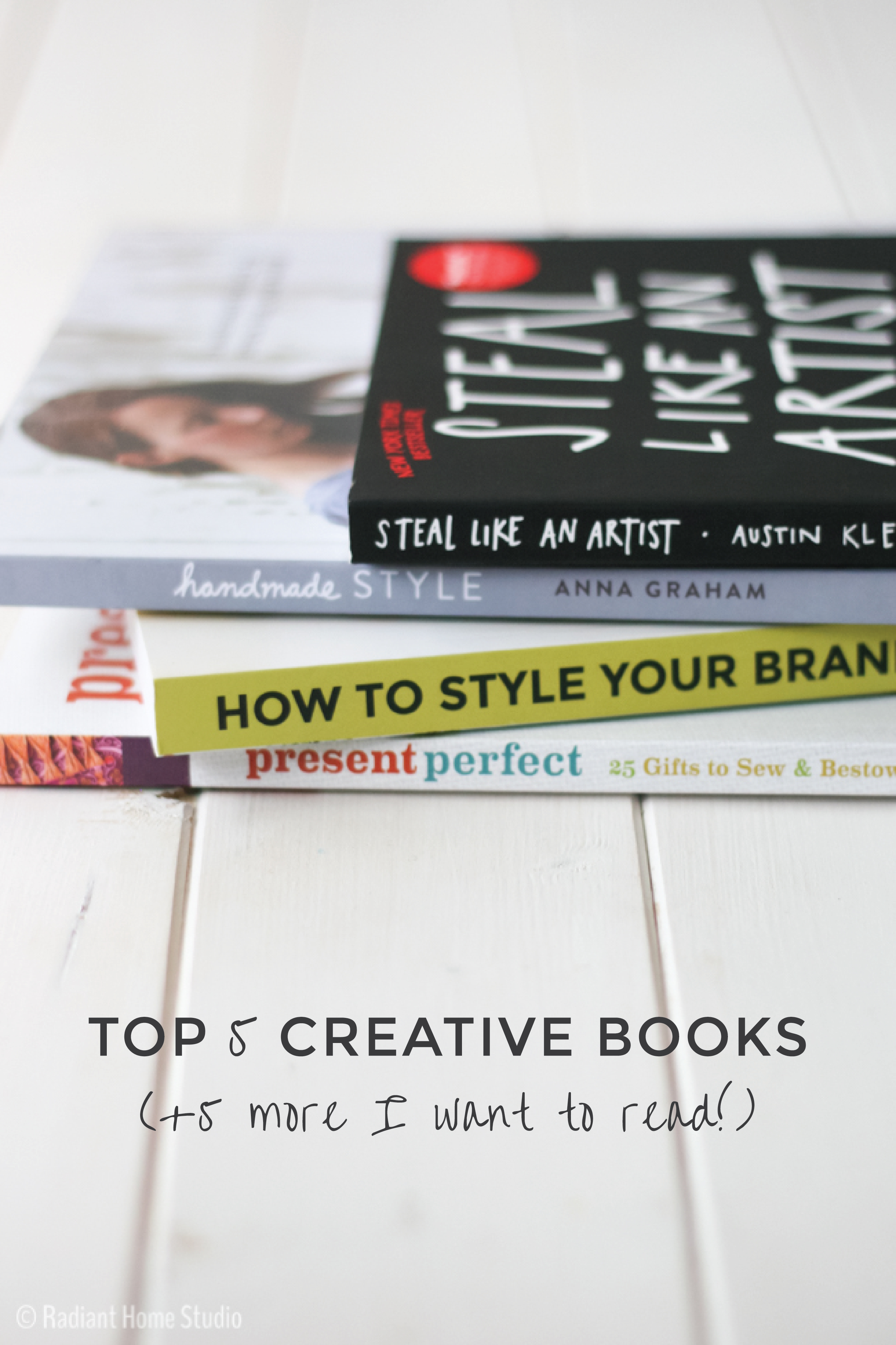 Creative Books| Sewing & Design Books Gift Guide | Radiant Home Studio