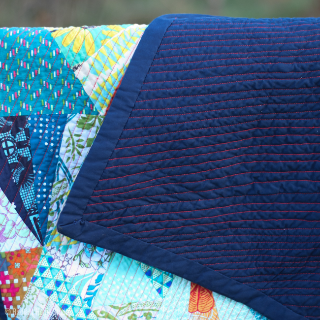 Tessellation Quilt Finish   Radiant Home Studio