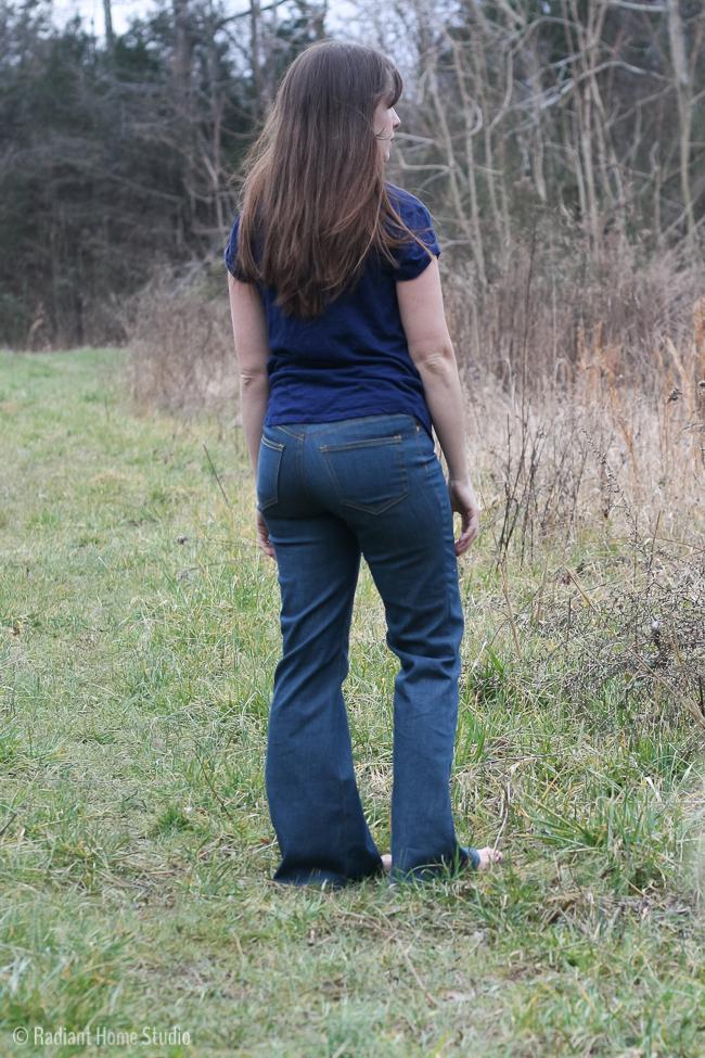 Birkin Flares Jeans Review | Radiant Home Studio