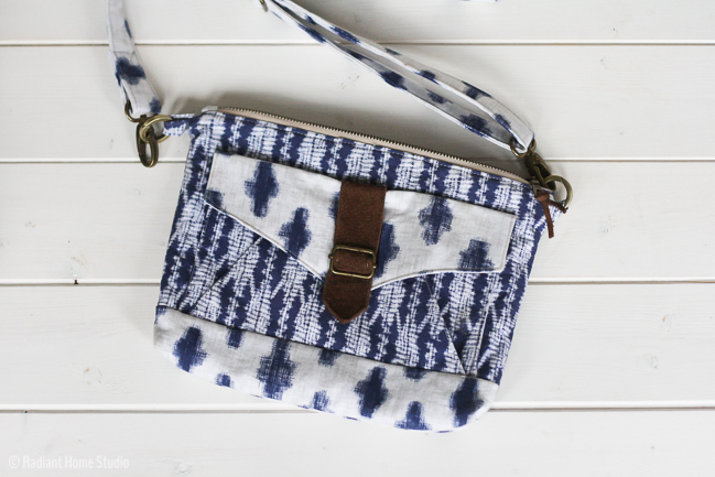 Sewing the Seneca Creek Bag by Betz White | Radiant Home Studio