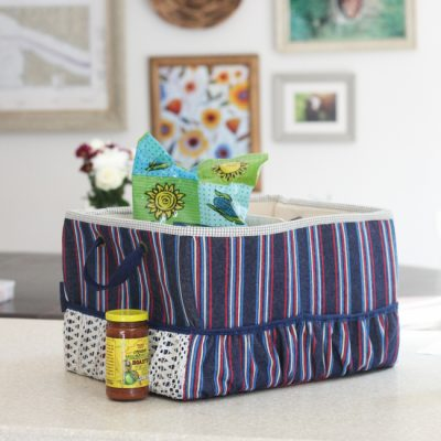 Mom's MInivan Organizer Sew-along | Binding, Handles, & Link-up | On the Go Bags | Radiant Home Studio