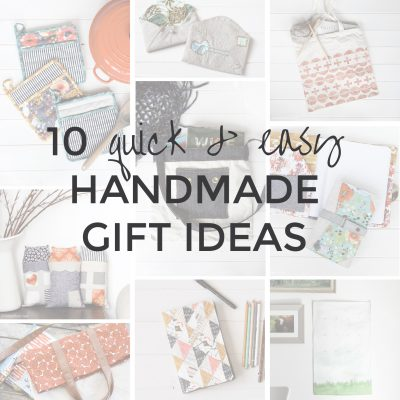 Quick & Easy Handmade Gift Ideas | Radiant Home Studio