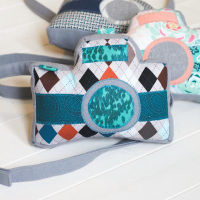 Little Photographer Camera Pattern by Swoodson Says | Handmade Gift for Preschooler | Radiant Home Studio