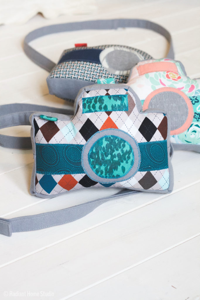 Little Photographer Camera Pattern by Swoodson Says   Handmade Gift for Preschooler   Radiant Home Studio