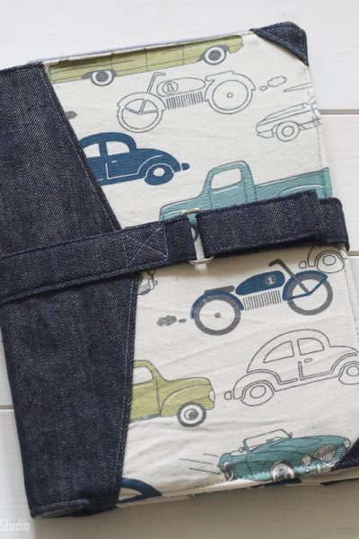 Personalizing the North Pond Notebook Cover sewing pattern   Radiant Home Studio