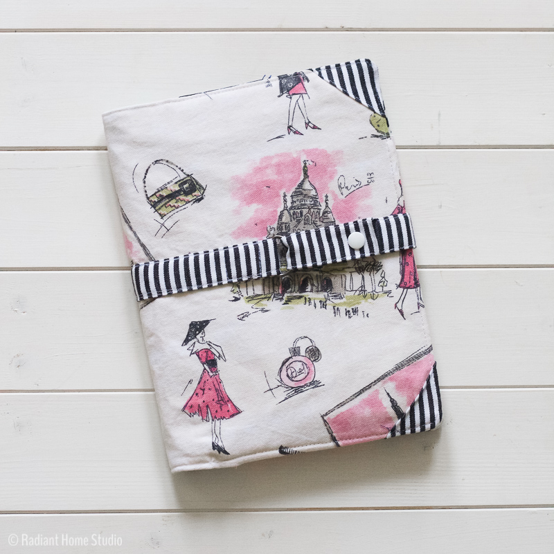 North Pond Notebook Cover | Pink & Feminine | Radiant Home Studio