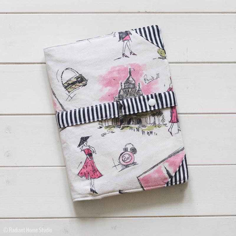 North Pond Notebook Cover | Pink & Feminine | Radiant Home Studio