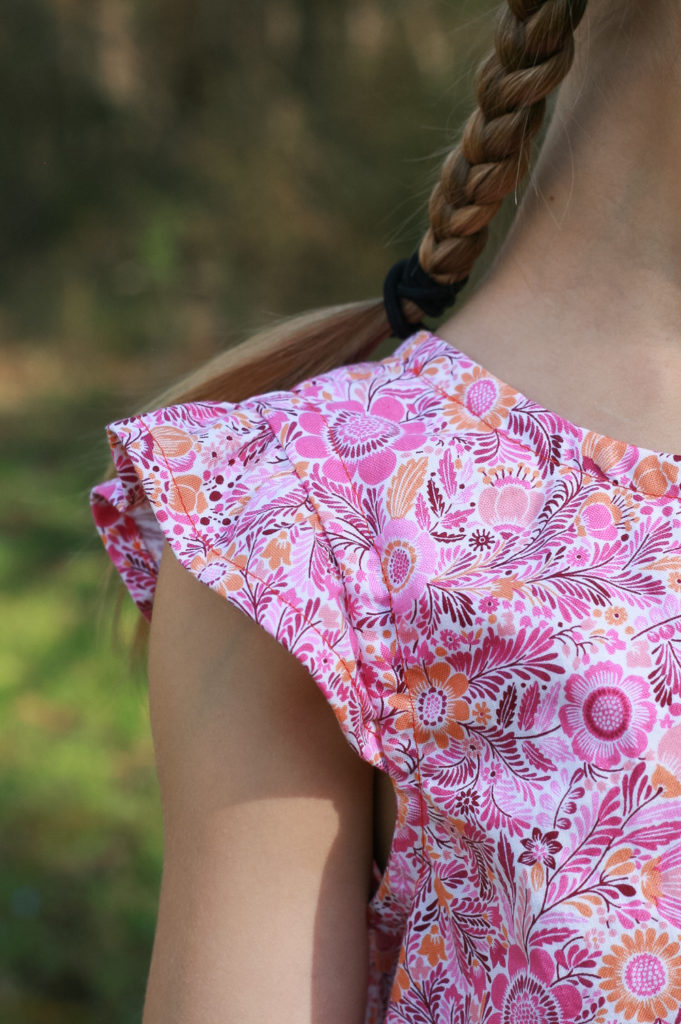 Butterfly Blouse Dress for Oliver + S   Radiant Home Studio