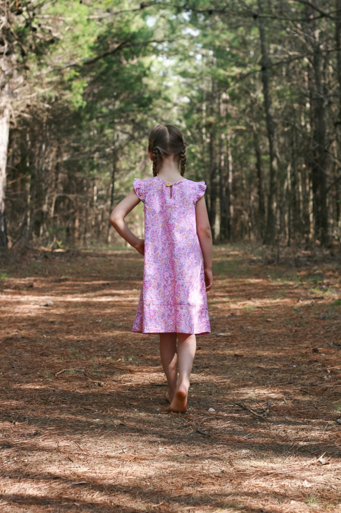 Butterfly Blouse Dress for Oliver + S | Radiant Home Studio