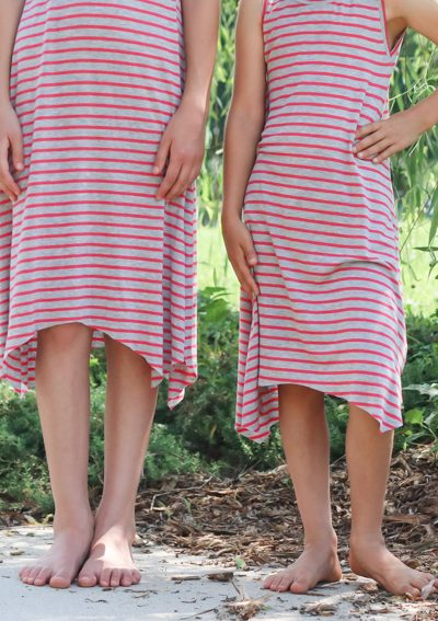 Striped Girls Dance Dresses | Radiant Home Studio