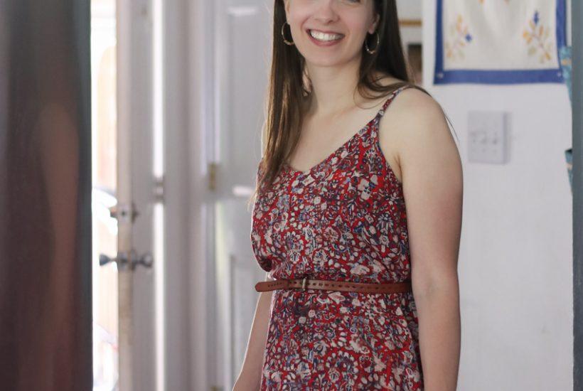 Rayon Ogden Cami Dress | True Bias Sewing Pattern | Radiant Home Studio