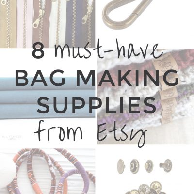 8 Stylish Sewing & Bag Making Supplies from Etsy | Radiant Home Studio