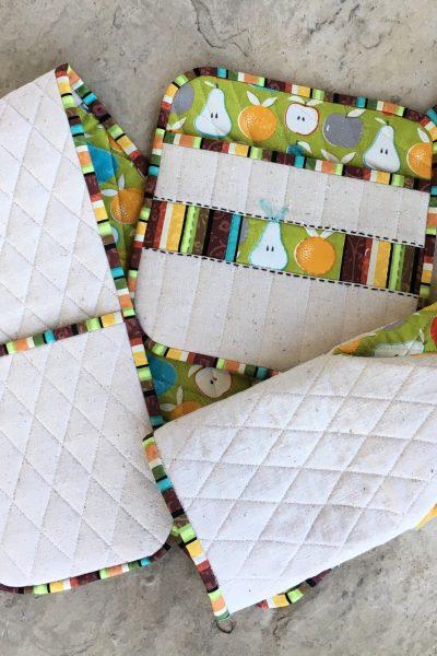 Flower City Potholder Set | Kitchen Gifts | Radiant Home Studio