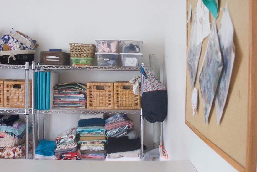 Declutter Your Sewing Room to Spark Creativity | Radiant Home Studio