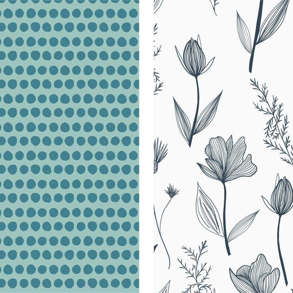 blue flowers portfolio
