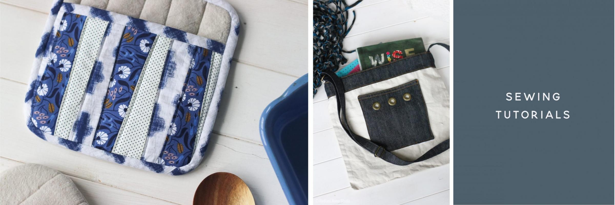 Sewing Tutorials | Radiant Home Studio