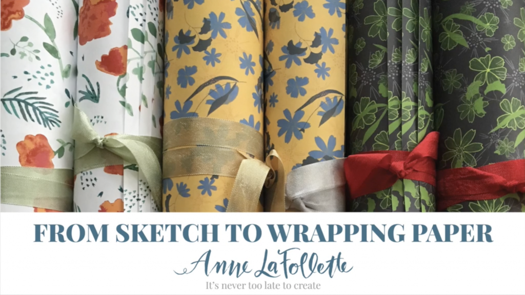 Anne LaFollette | Skillshare | From Sketch to Wrapping Paper
