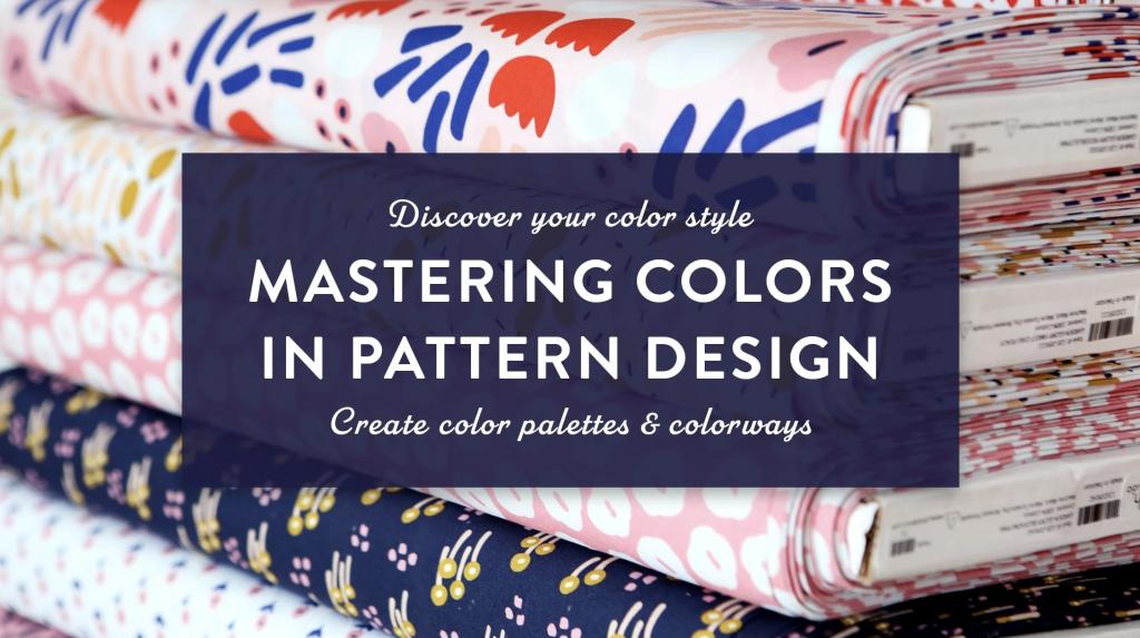 Skillshare | Maja Faber | Mastering Color in Surface Pattern Design