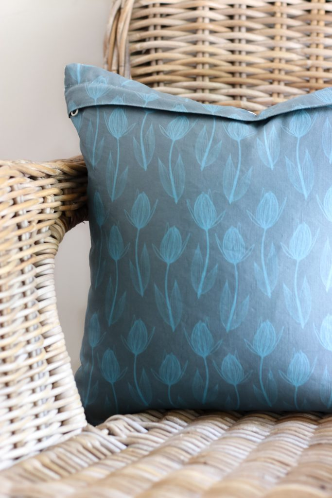 Raised Fabric by Sara Curtis for Clothworks | cotton Linen Blend | Radiant Home Studio